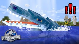 Download Charlie the Liopleurodon!!! - Dinosaurs In Minecraft | Jurassic World - Ep6 Video