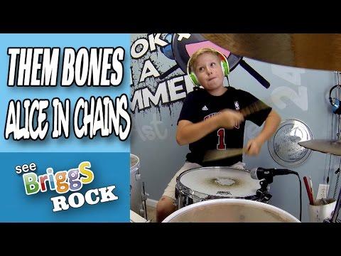 Alice In Chains Them Bones Drum Cover See Briggs Rock