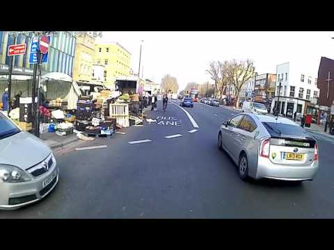 LONDON by bike filming with full hd high quality ,not A GOPRO   ST PAULS to STRATFORD