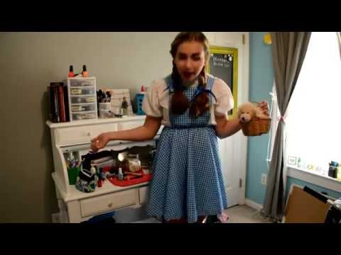 Dorothy Nails & Costume Idea!
