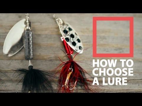 How to Choose a lure - Trout Fishing