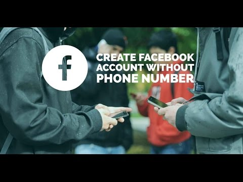 Create Facebook a/c without a Mob no. or an Email