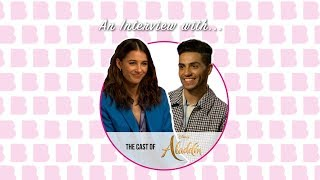Download An Interview with | The Cast of Aladdin: Naomi Scott and Mena Massoud Video
