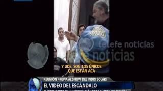 Indio: el video que compromete a Galli y los productores del show - Diario de Medianoche
