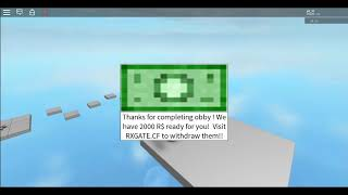This Obby Actually Gives FREE Robux Videos - 9tube tv