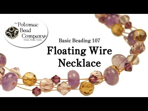 Make a Floating Wire Necklace