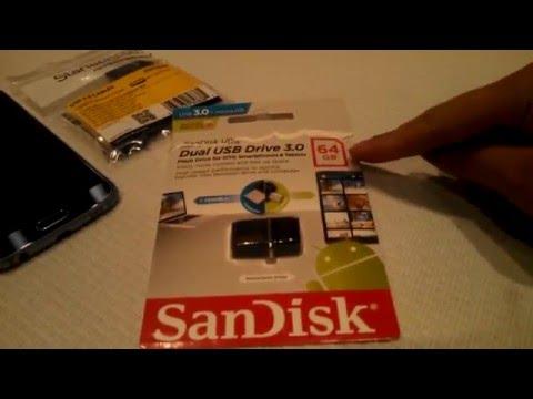 Samsung S6: MORE MEMORY Storage! (SanDisk OTG 64GB)