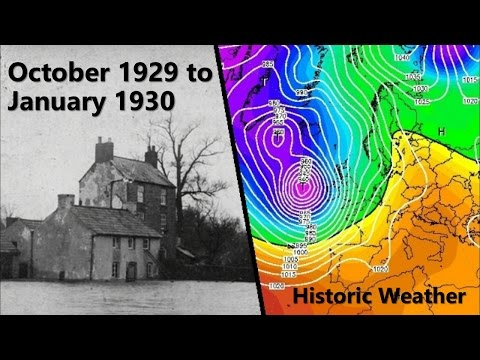 Historic Weather - October 1929-January 1930