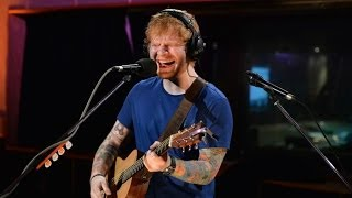 Ed Sheeran Sing Live At Maida Vale For Zane Lowe