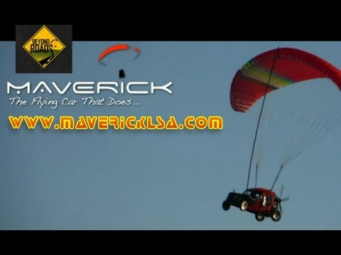 Maverick LSA, Maverick powered parachute, Maverick flying car, Maverick light sport aircraft.