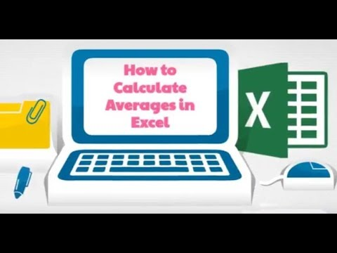 How to Calculate Averages in Excel 2016 | Mean, Median, Mode, Weighted Average | eSkillbd