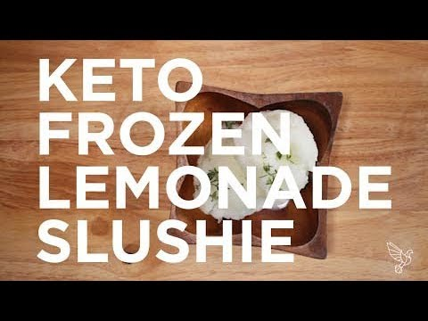 Keto Lemonade Slushie (Slushy!)