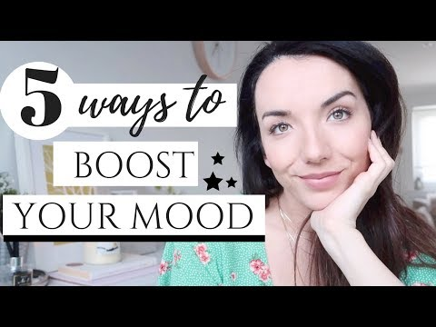 5 WAYS TO BOOST YOUR MOOD ! | HOW TO DE-STRESS AND FEEL HAPPY