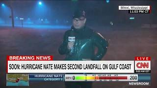 Hurricane Nate to make second landfall