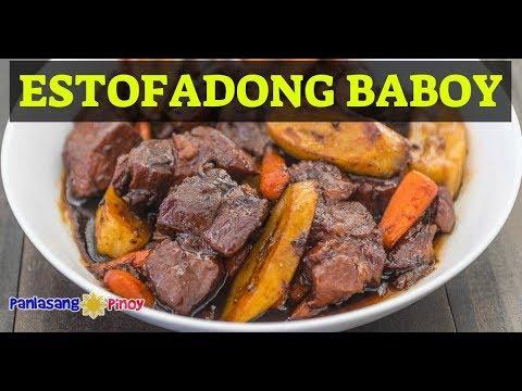 Estofadong Baboy