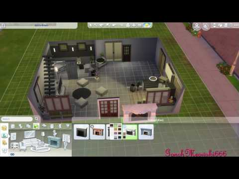 [The Sims 4] One bedroom house (with CC)