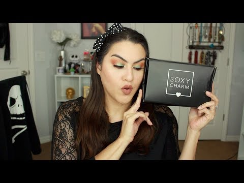 June 2018 Boxycharm Unboxing and Try On