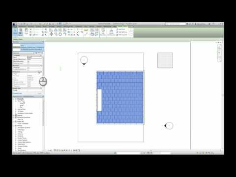 Applying Marshalls BIM Objects into a Revit project – Paving