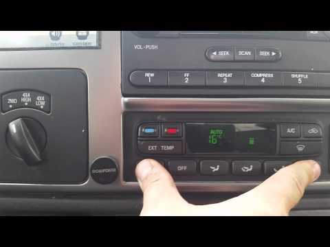 How To change a/c from F* to C* on Ford F250 6.0 Powerstroke 2007
