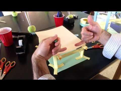 Paper Roller Coaster Half Pipe
