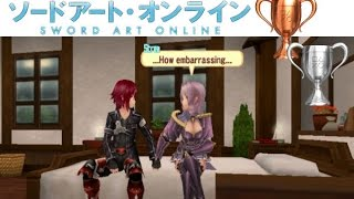 Sword Art Online: Hollow Fragment - PS VITA - ALL Pillow Talk Bed