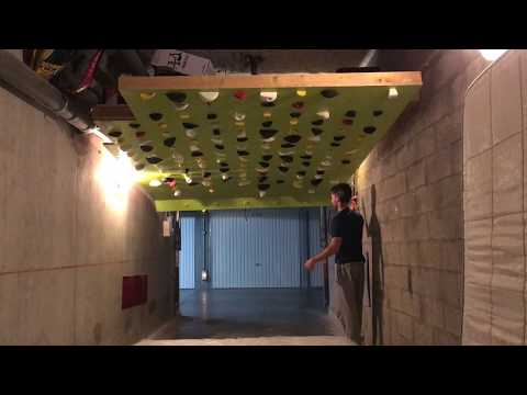 My Moonboard : a climbing wall in my garage