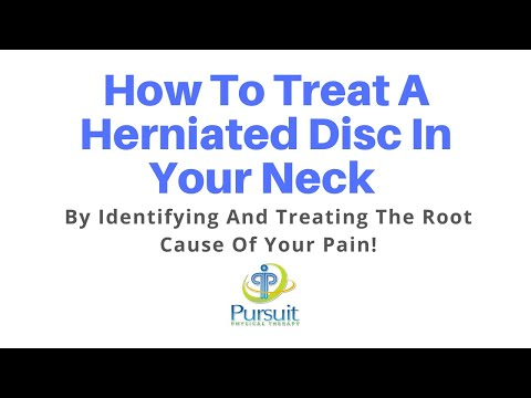 How To Treat A Herniated Disc in Neck | Neck Pain Orlando Treatment