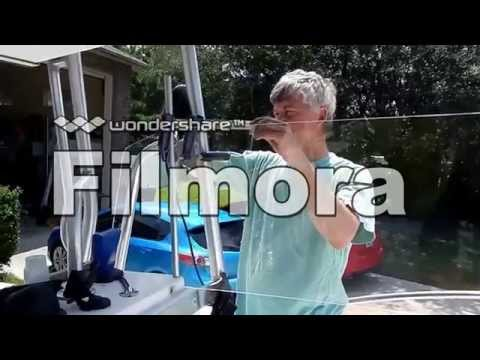 How to bend Plexiglass to make a windshield for a boat!
