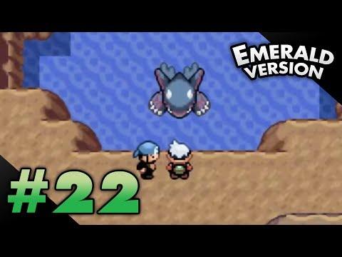 Let's Play Pokemon: Emerald - Part 22 - Seafloor Cavern