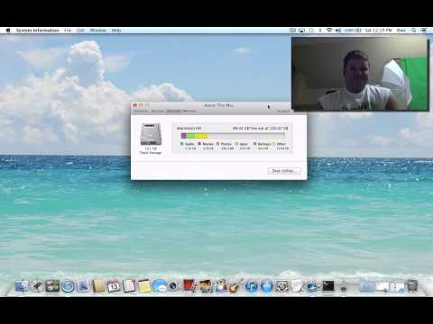 MacBook Air Available Disk Space
