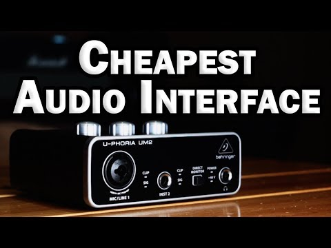 Behringer UM2 Audio Interface Review - Cheapest Audio Interface for Home Recording
