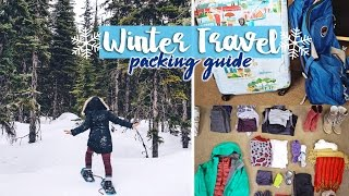 Winter Travel Packing Guide