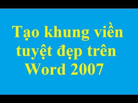 Tạo khung, viền, boder trong văn bản Word - http://taimienphi.vn