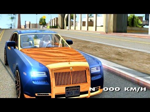 Rolls Royce Ghost Mansory V2 - GTA San Andreas