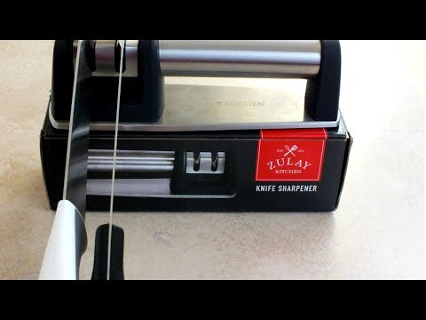 Zulay Knife Sharpener Review: How to