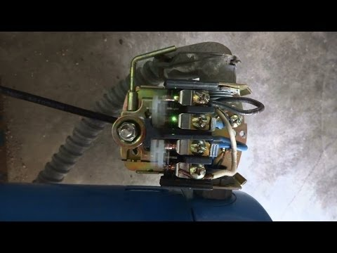 How to repair bouncing/sparking contacts on water pump pressure switch.