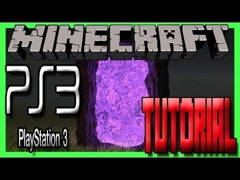Minecraft PS3 - How to build a End Portal