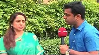 Dharmendra was initially discouraging me from contesting elections: Hema Malini