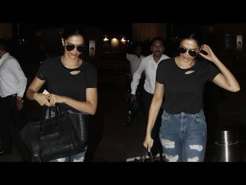 Deepika Padukone heads to Bengaluru to spend the weekend with family