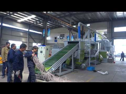 Cable recycling machine / copper wire separator / crusher shredder by Optima Technology OTD500