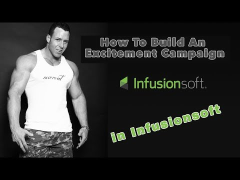How to Build an Excitement Campaign In Infusionsoft