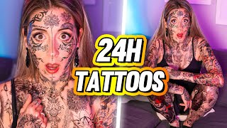 Vivre 100% tatouée pendant une journée (Prank) | DENYZEE