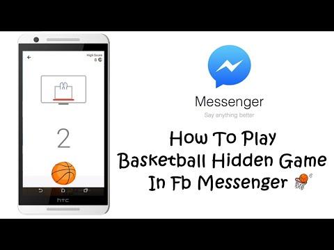 Play Basketball Hidden Game In Fb Messenger