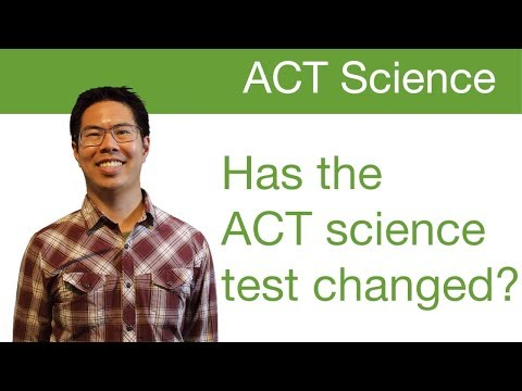 ACT Science Prep - Has the ACT science test changed? (since 2016)
