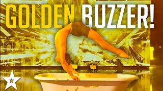 SEXY Male Contortionist Gets GOLDEN Buzzer On France