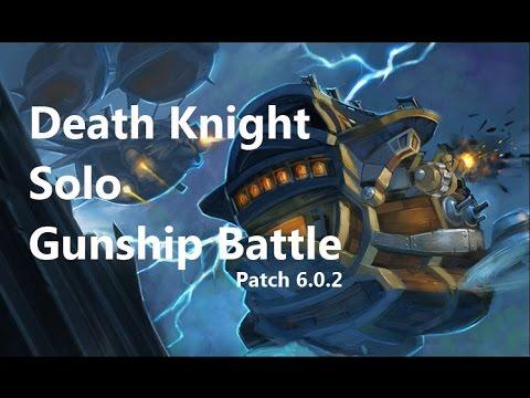 Death Knight Solo ICC10 - Gunship Battle (6.0.2)
