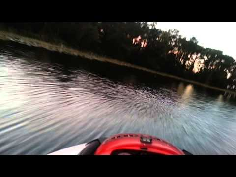 Sea Doo sunset ride