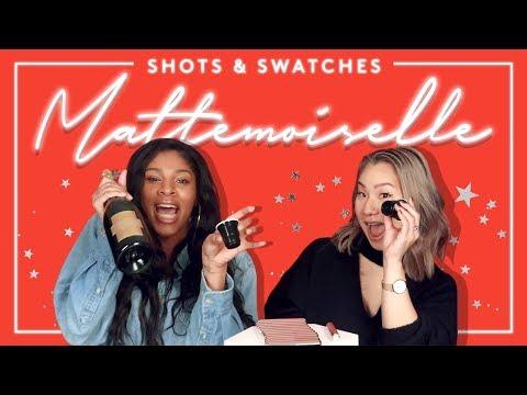 Shots and Swatches: Mattemoiselle Plush Matte Lipstick | FENTY BEAUTY
