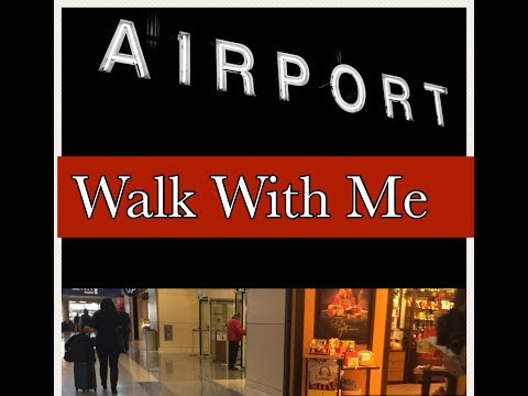 Walk With Me at the Airport! *DFW Airport*