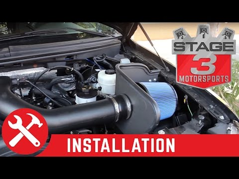 2004-2008 F-150 5.4L aFe Stage 2 Cold Air Intake System Install